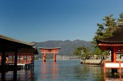 Itsukushima Torii Immagine Stock Libera da Diritti