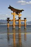Itsukushima Torii Gate Stock Image