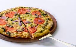 Ittaliano van de pizza Stock Fotografie