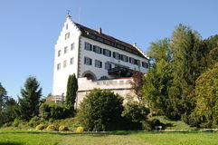 Ittendorf Castle. This is the beautiful Ittendorf castle located in the small town Markdorf-Ittendorf in southern Germany. It is the town's landmark. Today the Royalty Free Stock Photography