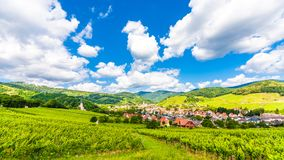 Free Itterswiller Medieval Village In Alsace France Stock Images - 114169304