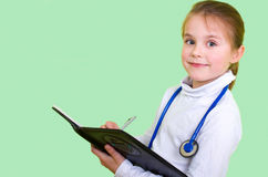 Ittle doctor Royalty Free Stock Photo