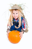 Ittle scarecrow Royalty Free Stock Images