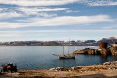 Ittoqqortoormiit Village - Greenland Stock Photography