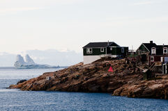 Ittoqqortoormiit Village - Greenland Royalty Free Stock Photography
