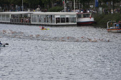 ITU World Triathlon Hamburg Stock Photo