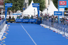 ITU World Triathlon Hamburg Royalty Free Stock Photo