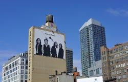 Itunes billboard advertising Stock Images