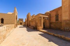 Сity of the dead. Memorial complex, necropolis Chor-Bakr in Bukhara, Uzbekistan. UNESCO world Heritage Stock Photo