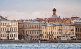 Сity skyline. St.Petersburg, Russia Royalty Free Stock Photo