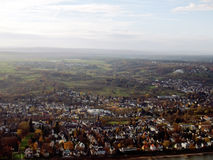 Ð¡ityscape of Bonn Germany. City landscape of Bonn from height of the bird s flight stock photos