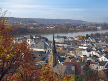 Сityscape of Bonn Germany. City landscape of Bonn from height of the bird s flight Royalty Free Stock Photo