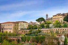 Ityscape del  de Siena Ñ Fotografía de archivo