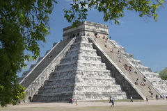 Itza de Chichen, México fotografia de stock
