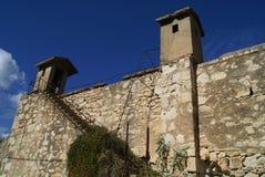 Itzedin Fortress in Kalyves, Chania, Crete, Greece, Europe Stock Image