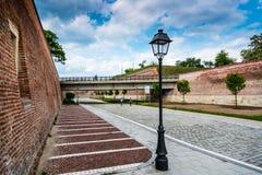 Iulia Festung alba Lizenzfreies Stockbild
