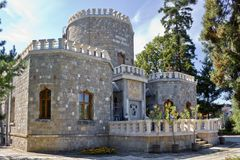 Iulia Hasdeu castle Royalty Free Stock Image