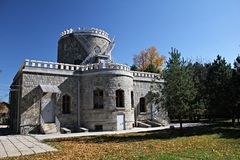 Iulia Hasdeu Castle stock foto