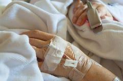 IV όργανο ελέγχου καρδιών βραχιόνων και δάχτυλων Στοκ Εικόνες
