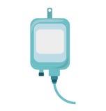 Iv bag medical isolated icon Royalty Free Stock Image