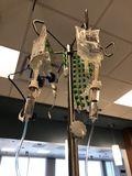 IV bomba médica da bomba medication imagem de stock royalty free