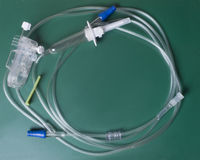 IV Catheter On Green Royalty Free Stock Photography