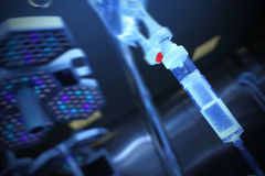 Iv Drip in the operating room Royalty Free Stock Image