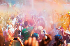 IV Festival de los colores Holi Barcelona Royalty Free Stock Photography