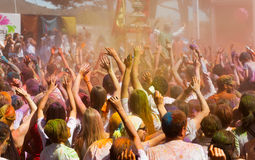 IV Festival  Holi Barcelona Royalty Free Stock Photo
