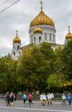 2016 09 25: IV maratona di Mosca trentaseiesima distanza di maratona di chilometro Fotografia Stock