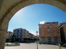 IV Novembre-Quadrat nahe dem Kloster von St Francis Stockbild