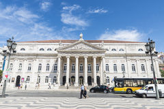 IV πλατεία της Λισσαβώνας Pedr Στοκ Φωτογραφία