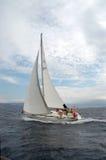 iv-segling Arkivfoton