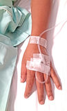 IV solution Stock Images