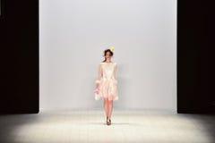 Iva Pfeiffer fashion show Royalty Free Stock Images