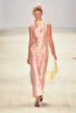 Iva Pfeiffer fashion show Royalty Free Stock Photography