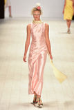 Iva Pfeiffer fashion show Royalty Free Stock Photo