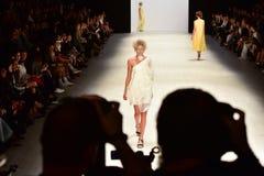 Iva Pfeiffer fashion show Stock Photo