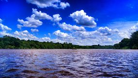Ivai River stock image