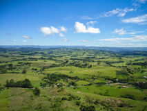 Ivai Valley in Paraná State, Brazil. Stock Image