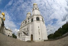 Ivan极大的钟楼 免版税库存图片