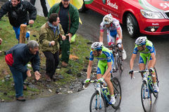 Ivan Basso - Mortirolo Royalty Free Stock Image