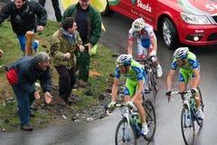 Ivan Basso - Mortirolo Royalty Free Stock Image