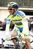 Ivan Basso  Team Tinkoff - Saxo Royalty Free Stock Images