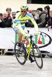 Ivan Basso  Team Tinkoff - Saxo Royalty Free Stock Photos