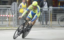 Ivan Basso Team Tinkoff - Saxo Stock Photography
