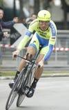 Ivan Basso Team Tinkoff - Saxo Stock Photo