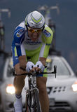 Ivan Basso, USA Pro Cycling Challenge Royalty Free Stock Photo