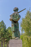 Ivan Crnojevic statue Cetinje Royalty Free Stock Photography