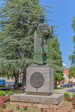 Ivan Crnojevic statue Cetinje Royalty Free Stock Photo